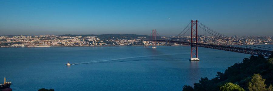 Tejo, vista de Lisboa